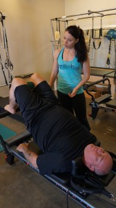 Working on the Reformer with Elisabeth at Redbird