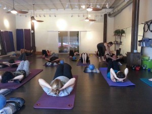 Redbird Pilates - getting help and instruction in the basic mat class